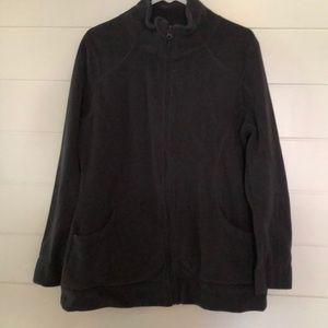 Old Navy Gray Fleece Pullover